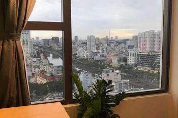 Cho thuê officetel River Gate có phòng riêng 39m2, full nội thất, giá 17 tr/th. LH 0916 020 270