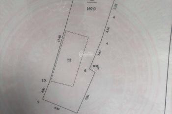 Đất ở ngõ 102 Khương Trung, Thanh Xuân, Hà Nội, (6,8m x 24m)