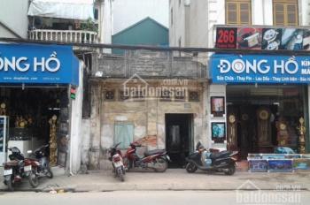 Bán đất mặt phố Trương Định, Hoàng Mai, 74m2 MT 5.5m, giá 7 tỷ 5, LH 0393908809