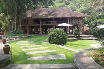 Bán 40.000m2 (4ha) khu nghỉ dưỡng sinh thái khuôn viên đầy đủ, đã có sẵn nhà sàn thuộc Kỳ Sơn