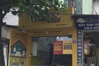 Chính chủ cần bán gấp nhà mặt phố Lĩnh Nam, Hoàng Mai tầng 1 rất tiện kinh doanh, giá chỉ 5,4 tỷ
