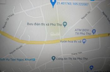 Cho thuê nhà mặt phố là căn góc 2 mặt tiền trung tâm thị xã Phú Thọ, tỉnh Phú Thọ