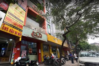 Cho thuê mặt bằng phố Trần Đại Nghĩa, 130m2 thông sàn, nhà 3 tầng, 12m mặt tiền, làm ngân hàng cafe