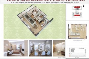 Căn hộ chung cư HUD3 Nguyễn Đức Cảnh giá chỉ từ 24,5tr/m2. Liên hệ: 0977.279.862