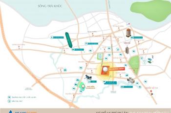 Đất nền biệt thự, trong khu đô thị đẳng cấp, trung tâm thành phố Quảng Ngãi, sổ đỏ trao tay