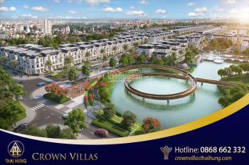 Thông tin bảng giá, quỹ căn - Dự án Thái Hưng - Crown Villas Thái Nguyên