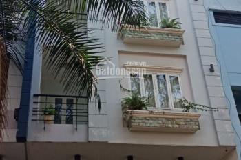 Cho thuê nhà hẻm xe tải Lê Văn Sỹ, 6m x 25m, trệt, 3 lầu, sân thượng, nhà mới, nhận nhà liền