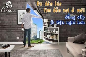 Cần bán nhanh Centana Thủ Thiêm B-16-08, 64m2, 2PN, đã nhận nhà, 2,55 tỷ có VAT