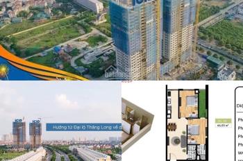 Cần bán căn hộ 66.3m2 tầng 14 tại dự án ICID Lê Trọng Tấn - Hà Đông. Giá 1.385 tỷ