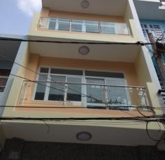 Nhà đẹp 3.6x13.5m, đúc 3 tấm HXH 45 Bình Tiên, Q6