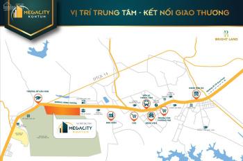 Siêu đẹp, siêu rẻ, mặt tiền Quốc Lộ chỉ có ở Mega City Kon Tum, LH 0888 68 7776