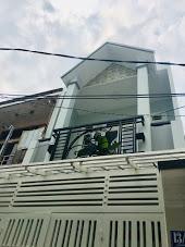 Bán nhà Lương Thế Vinh, P Tân Thới Hòa, Q Tân Phú, 3m5x17m