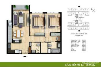 Cần bán gấp căn hộ 5 sao Hòa Bình Green City, 2PN, 505 Minh Khai. LH: 0978818556