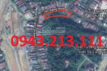Đất nền mặt đường Trần Đăng Ninh - TP Lào Cai, DT 90m2, LH: 0943213111