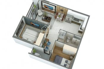 Căn hộ 61m2 thiết kế cực chuẩn cho vợ chồng trẻ, ở hoặc đầu tư tại Vinhomes Ocean Park, 0946928689