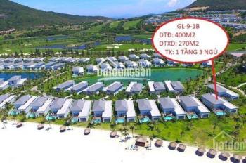 Tôi Cường bán cắt lỗ 1 tỷ căn biệt thự Vinpearl Nha Trang, GL9-1B mặt biển