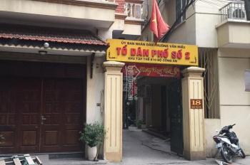 Bán nhà 18 Ngô Tất Tố, Văn Miếu, Đông Đa, Hà Nội, DT 30m2, 5 tầng, giá 4.5 tỷ