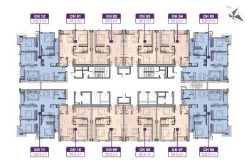 Chính chủ bán cắt lỗ chung cư Iris Garden, Trần Hữu Dực, tầng 1512, CT3 DT 102.9m2-3PN, giá 2,9 tỷ