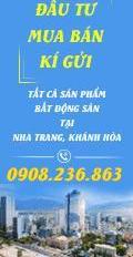 Đất Biệt Thự  và Liền Kề Tại Khu Đô Thị Phước Long A. TP Nha Trang LH 0908236863 Mr Khang