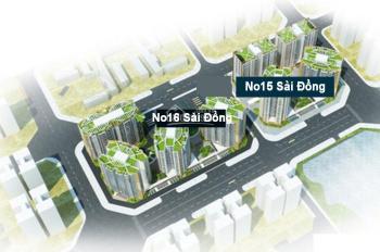 Nhận đặt chỗ trực tiếp từ CĐT No15 - No16 Sài Đồng, ưu tiên chọn căn tầng đẹp. LH 0984254868
