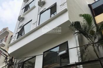 Cho thuê nhà 193 Trung Kính, Cầu Giấy cho thuê, DT 80m2, 6 nổi, 1 hầm, giá 60 tr/th, có thang máy