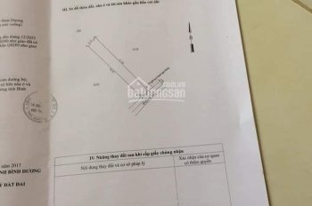 Bán lô đất sổ riêng tân bình thị xã dĩ an diện tích 240m²
