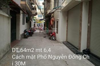 Chính chủ bán đất Nguyễn Đổng Chi, Từ Liêm, Hà Nội DT 64m2, MT 6.4m, giá 4,6 tỷ, LH 0984601760