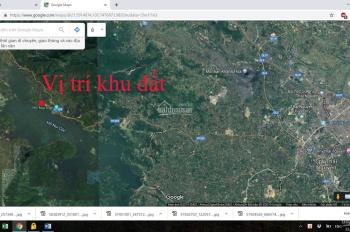 Bán lô đất diện tích 2139 m2 sát khu du lịch công đoàn hồ Núi Cốc Thái Nguyên lh: 0914668557