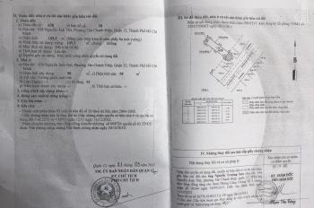 Bán nhà mặt tiền Nguyễn Ảnh Thủ, Tân Chánh Hiệp, Q12. DT: 5x27m, giá: 11.2 tỷ TL