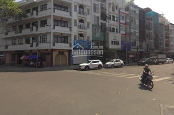 Góc MT Hoàng Sa-Nguyễn Đình Chiểu thoáng mát 4x16m 5 tầng ốp kính nhà mới chưa ai ở.