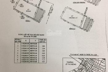 BÁN GẤP căn nhà chính chủ đường CMT8 Q10, đúc 5 Tầng kiên cố, hẻm 6M thông Tô Hiến Thành