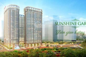 Chỉ cần 10% ký HĐMB sở hữu ngay căn hộ Sunshine Garden-vay 0% LS đến khi nhận nhà, tặng 150 triệu