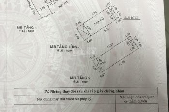 1/1 Lê Ngã, cách MT Âu Cơ 3 bước chân, chỉ 90tr/m2 cả nhà lẫn đất