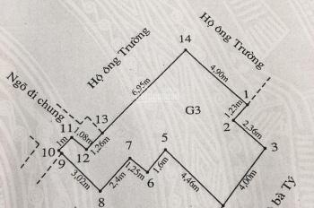 Gia đình cần bán nhà phố trung tâm ngõ 183 Cầu Đất