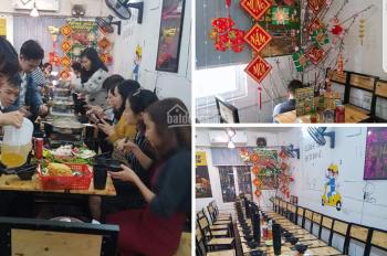 Sang nhượng nhà hàng ăn uống bia nhậu mặt phố Nguyễn Khuyến - Đống Đa, Hà Nội, 16 tr/tháng
