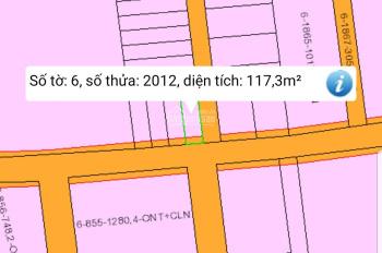 Bán lô góc thổ cư vừa tách sổ 5,8x20m, ngay ủy ban, chợ, trường học KCN Giang Điền, LH 0933.003.510