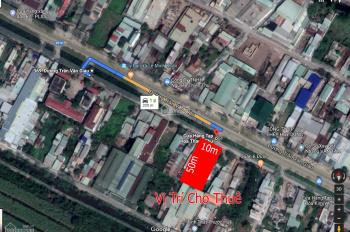 Trí BĐS, cho thuê kho xưởng, mặt bằng 500m2 mặt tiền Trần Văn Giàu (gần UB xã Lê Minh Xuân) giá rẻ