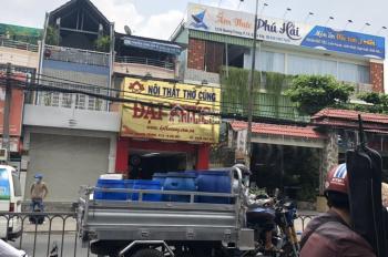 Cho thuê gấp nhà 1280 Quang Trung, diện tích: 4x20m, 1 trệt 1 lửng, LH 0961508033