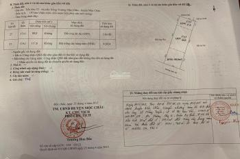 Chính chủ giao dịch 02 thửa đất tại Tiểu khu 32, Thị trấn Nông trường Mộc Châu (ảnh chụp thực tế)