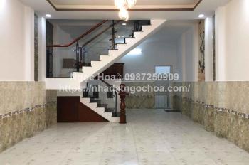 Cho thuê nhà mới sạch đẹp gần công viên làng hoa đường Cây Trâm, P8. LH: 0399904304 (A. Tuấn)
