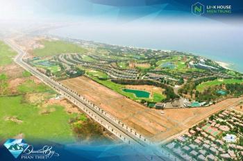 Chính chủ bán gấp lô đất biệt thự Diamond Bay view biển và hồ Sealinks, giá 13.8 tr/m2, 0938872672