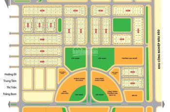Đất dự án Trảng Bom, giá gốc chủ đầu tư, chiết khấu 4%, tặng 3 chỉ vàng, trả góp 0% LS, 0937699529