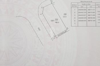 Bán đất khu tái định cư Đồng Lôi, P. Kỳ Bá lô góc NO7 106,3m2, 2 lô liền kề NO7 67,5m2