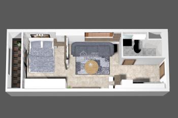 Thêu căn hộ offictel Millennium quân 4 bến vân đồn, DT 30 giá 11 triệu nội thất cơ bản  0969200085