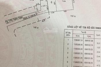 Nhà cấp 4 hẻm 85 Trần Xuân Soạn, 5x6,5m