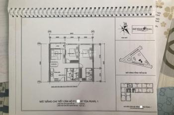 Bán chung cư Mỹ Đình Pearl 1, nhận nhà ngay, dt 72,5m2 căn hộ đẹp nhất tòa