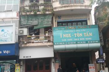 Bán nhà mặt phố Ngọc Hà, đối diện cổng viện Bảo Tàng Hồ Chí Minh khu đông đúc