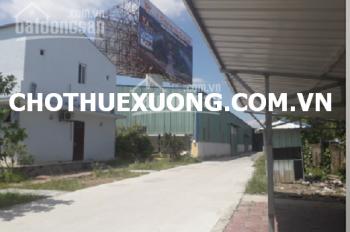 Xưởng đẹp mới xây cho thuê tại thành phố Hải Dương, DT 1220m2 giá tốt