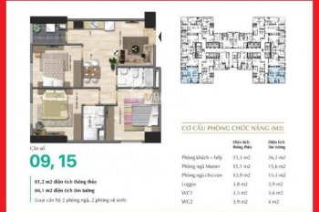 Chính chủ cần bán căn góc Park 1 - 81.2m2