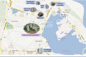 Tây Hồ Residence đường Võ Chí Công căn góc 3PN view hồ, full nội thất, chỉ 3,7 tỷ. LH 098.3650.098